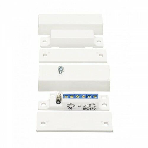 MC 470 Kontakt magnetyczny, High Security, powierzchniowy, NC - Alarmtech