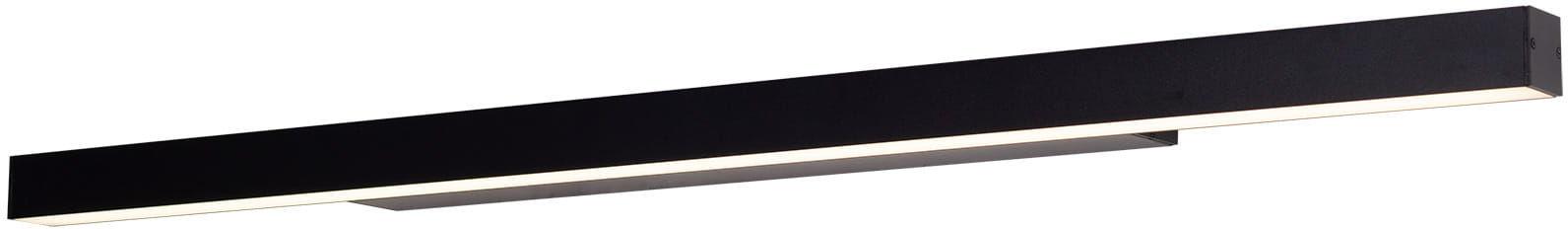 Kinkiet LINEAR W0266 Dim IP44 MAXlight prosta oprawa w kolorze czarnym