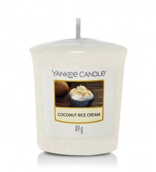 Coconut Rice Cream Sampler/Votive Yankee Candle
