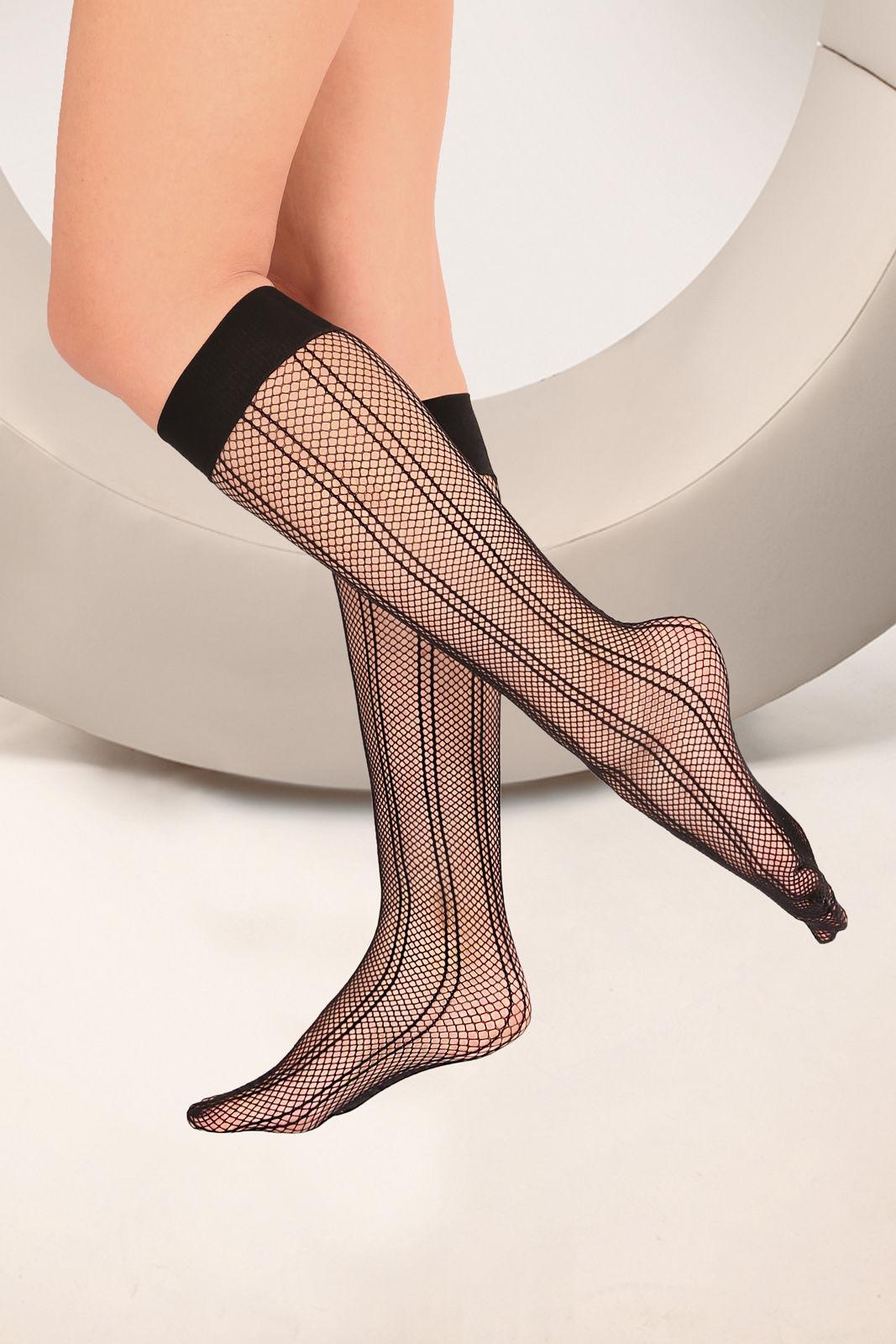 Passion Prestio Knee Socks Nero