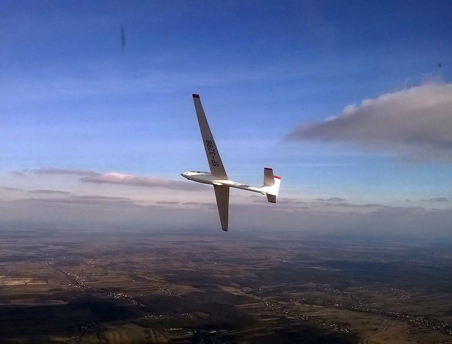 Lot szybowcem - Częstochowa - lot zapoznawczy