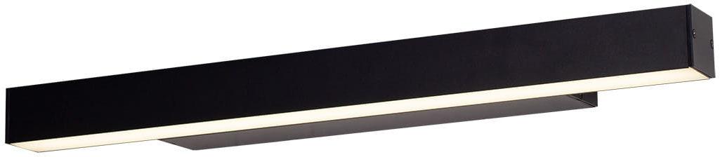 Kinkiet LINEAR W0264 Dim IP44 MAXlight prosta oprawa w kolorze czarnym