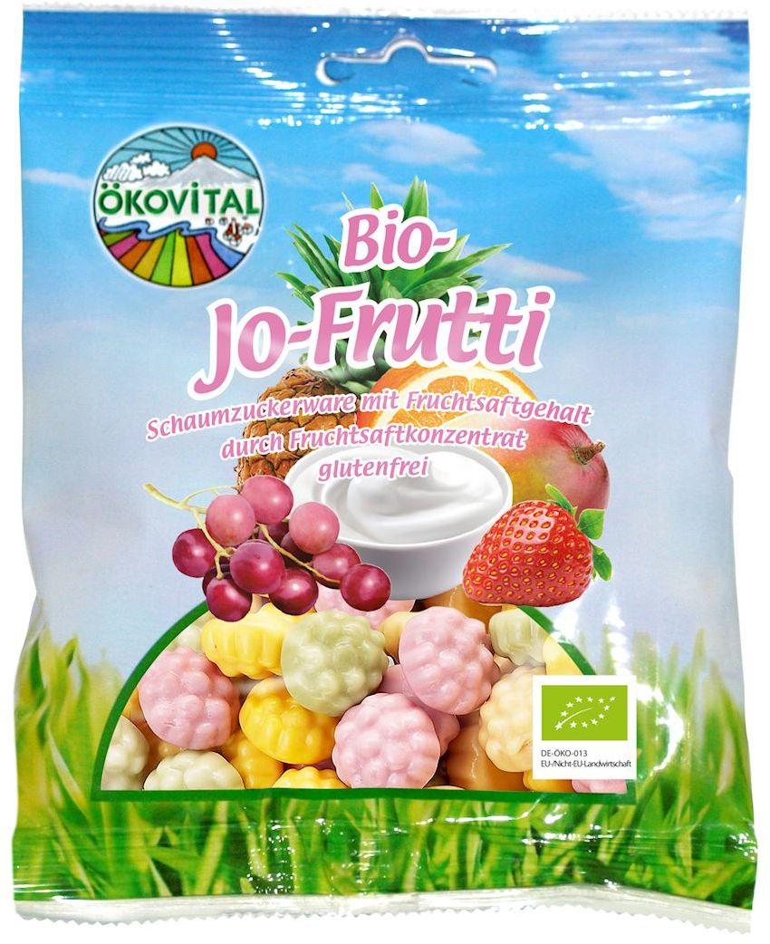 Żelki owocowe jogurtowe bezglutenowe bio 80 g - okovital