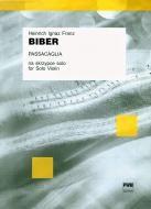 PWM Biber H. I. Passacaglia na solo Skrzypce