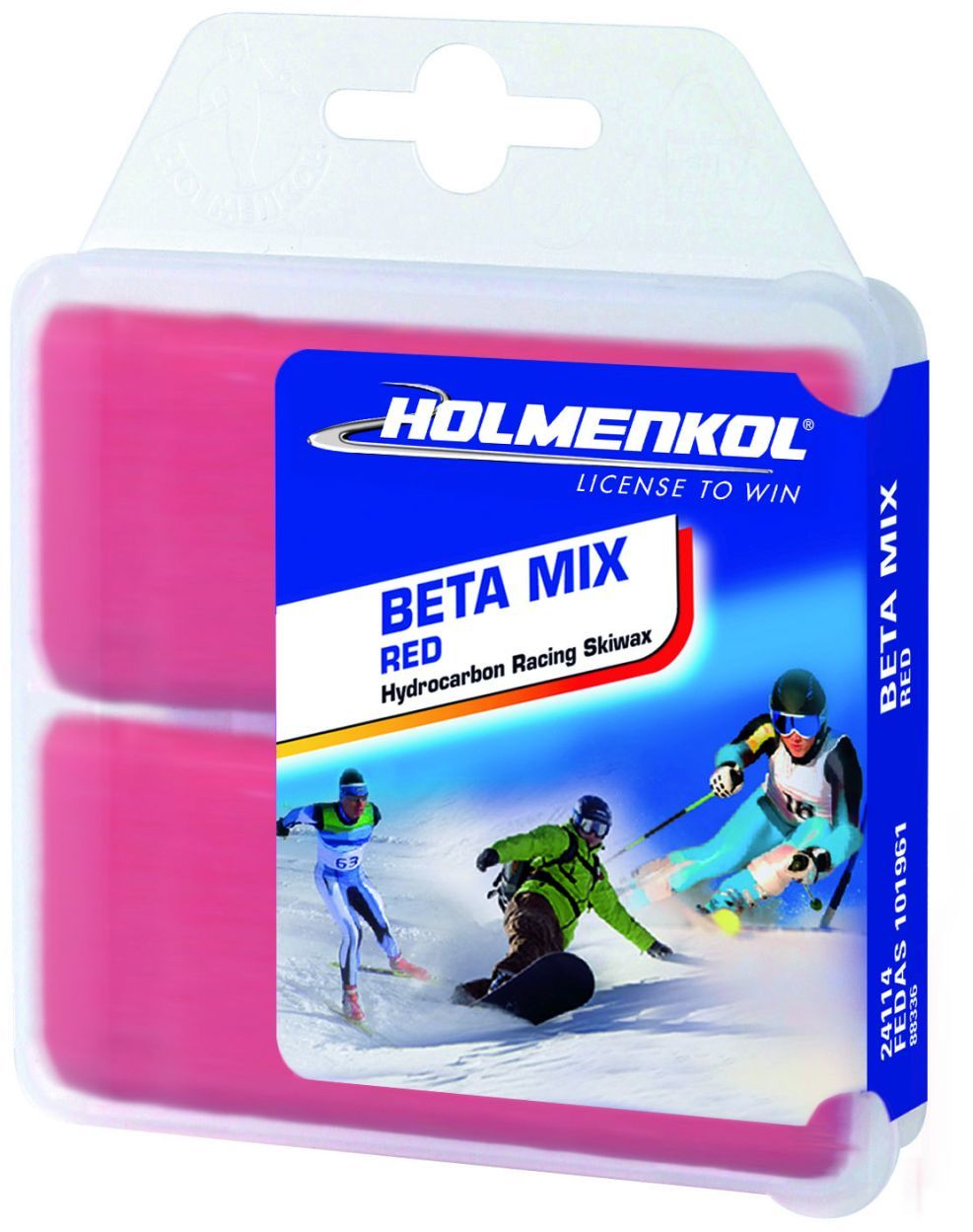 Smar Holmenkol Beta Mix Red 2x35g
