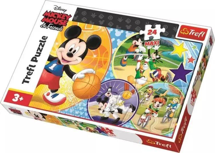 Puzzle 24 maxi Czas na sport! TREFL