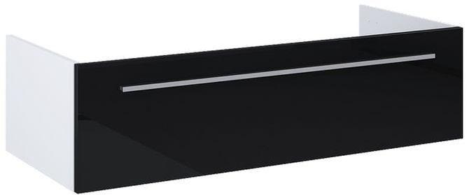 Komoda bez blatu 100 Kwadro Slim Black Elita (166462)