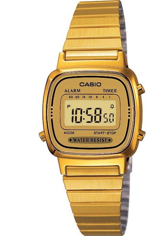 Zegarek Casio LA670WEGA-9EF - CENA DO NEGOCJACJI - DOSTAWA DHL GRATIS, KUPUJ BEZ RYZYKA - 100 dni na zwrot, możliwość wygrawerowania dowolnego tekstu.