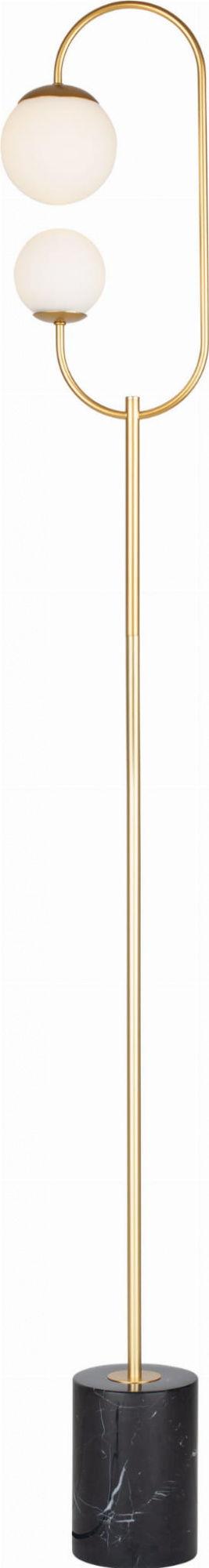 Lampa podłogowa TORO F0049 MAXlight nowoczesna oprawa w kolorze złotym