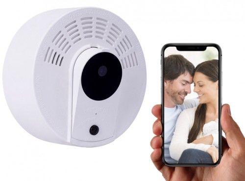Czujka z kamerą Wi-Fi detekcja ruchu PIR LS8 IR (Do Roku na baterii)