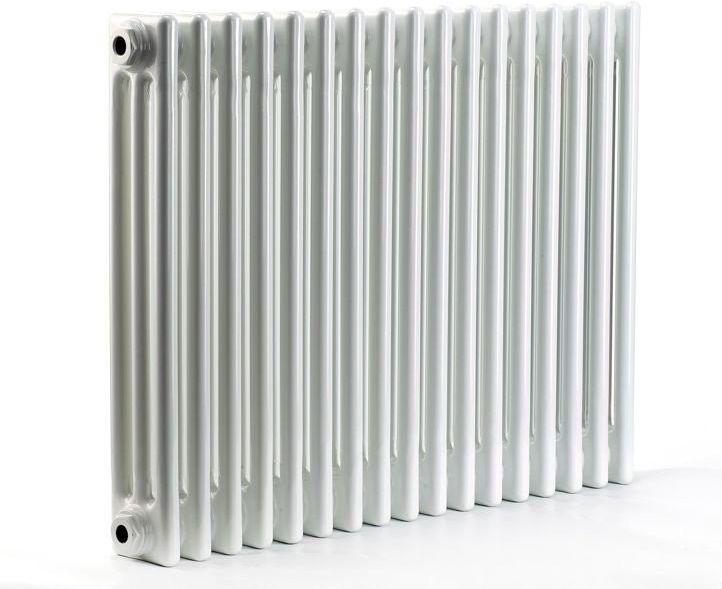 Grzejnik pokojowy retro - 3 kolumnowy, 600x1000, biały/ral - biały