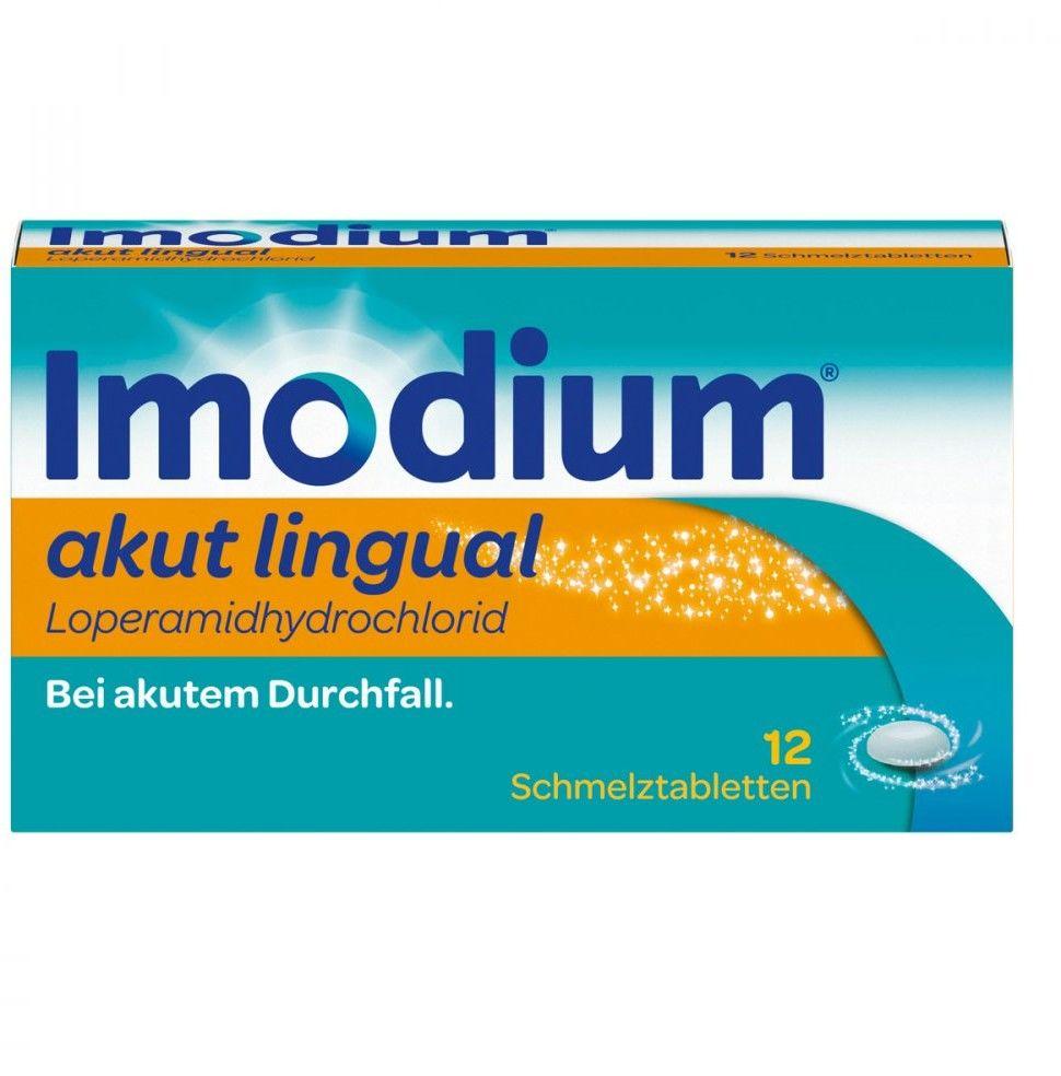 Imodium akut lingual Tabletki przeciw biegunce
