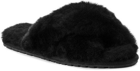 EMU Australia Kapcie Mayberry W11573 Czarny