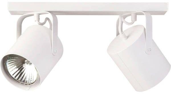 Nowoczesna lampa sufitowa FLESZ E27 2 PLAFON biały 31106
