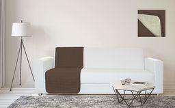 Sogni e Capricci Wodoodporny pasek na sofę, 60 x 190 cm, brązowy/kremowy, 1 miejsce