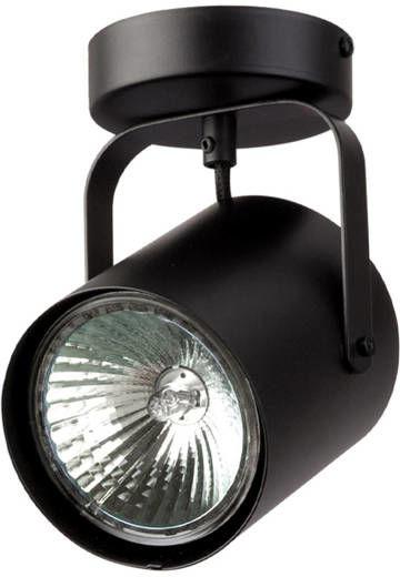 Nowoczesna lampa sufitowa FLESZ E27 1 PLAFON czarny 31065