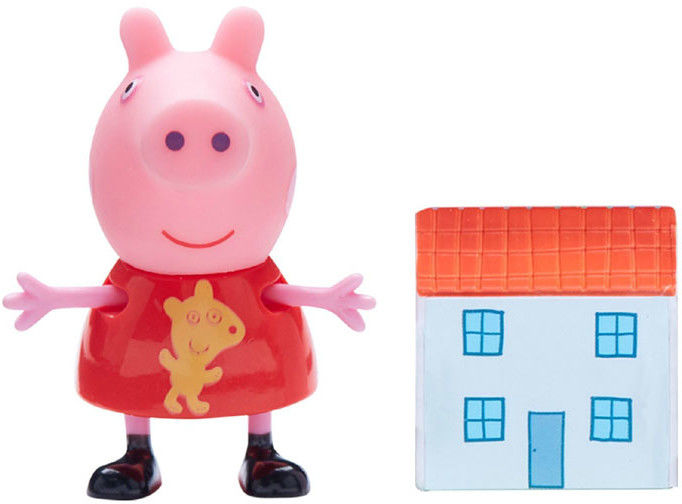Świnka Peppa - Świnka Peppa i domek 06771 E