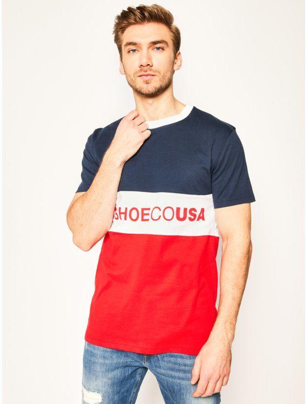 DC T-Shirt Glenferrie EDYKT03493 Kolorowy Regular Fit
