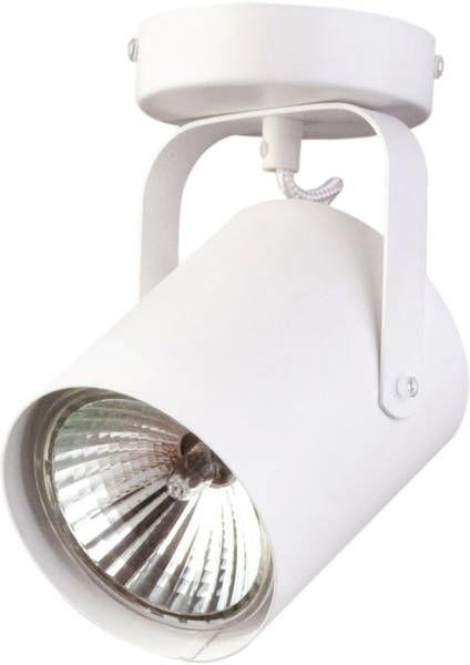 Nowoczesna lampa sufitowa FLESZ E27 1 PLAFON biały 31095