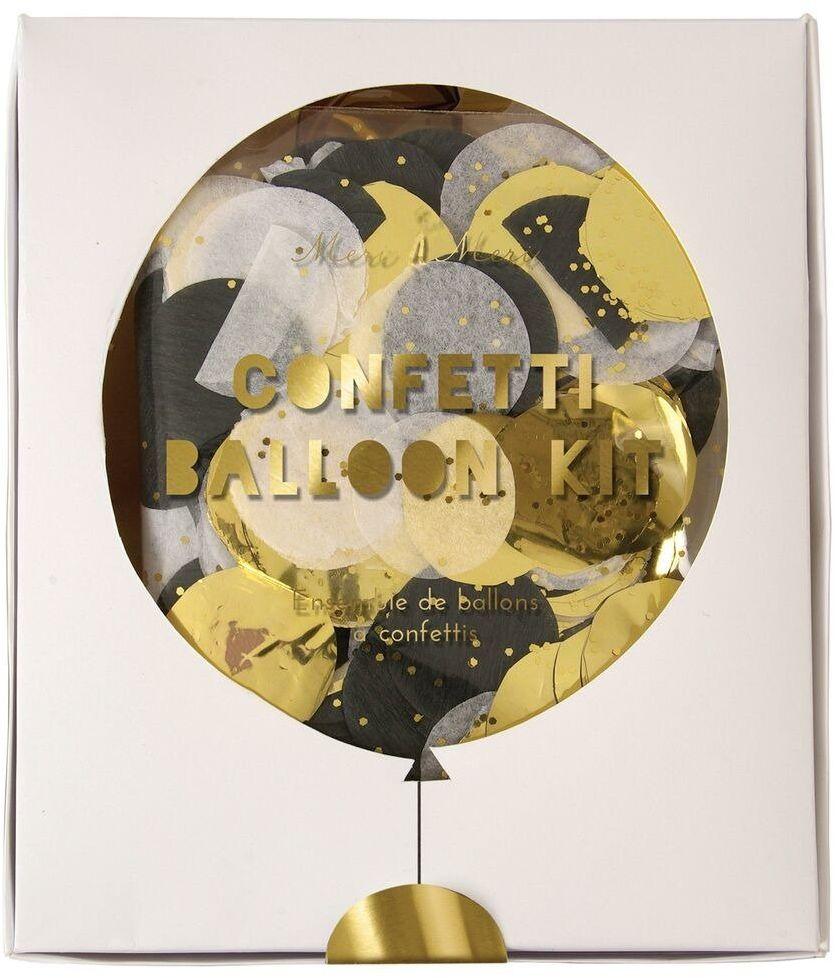 Meri Meri  Zestaw balonów Konfetti shine