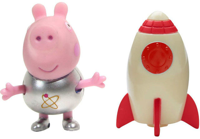 Świnka Peppa - George kosmonauta i rakieta 06771 D