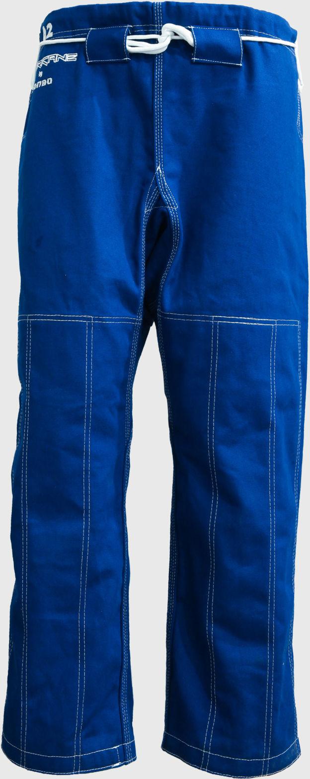 spodnie do BJJ / ju-jitsu HURRICANE, niebieskie, 14oz (9 rozmiarów)