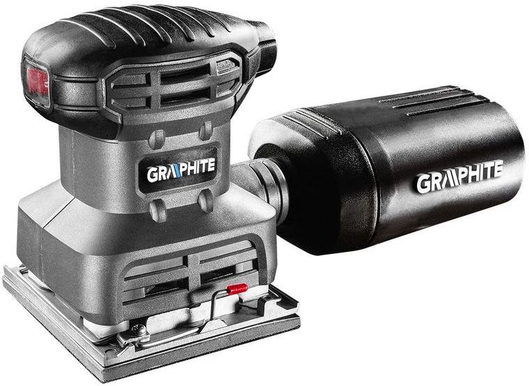 Szlifierka oscylacyjna 220W stopa 104x112mm 3 stopy w zestawie 59G320