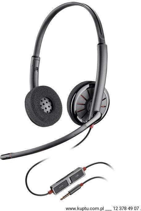 Blackwire 225 zestaw słuchawkowy jack 3,5 mm (205204-02)