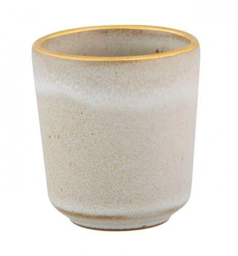 Miseczka/Kubeczek Gold Stone biel Casa Alegre