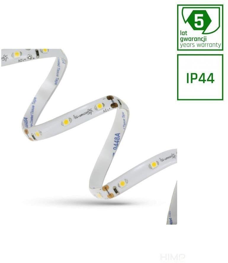 PASEK LED 18W 3528 60LED NW 5 lat 1m (rolka 5m) -w silikonie