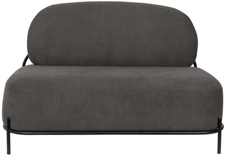 POLLY Grey - Sofa 2-osobowa