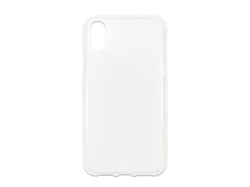 Apple iPhone XS - etui na telefon FLEXmat Case - biały