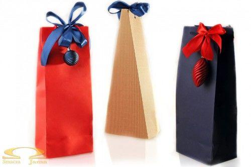 Świąteczna torebka prezentowa