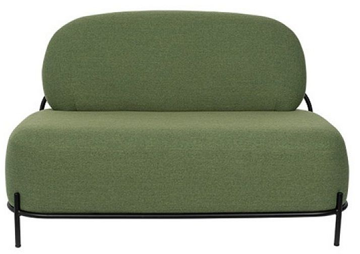 POLLY Green - Sofa 2-osobowa