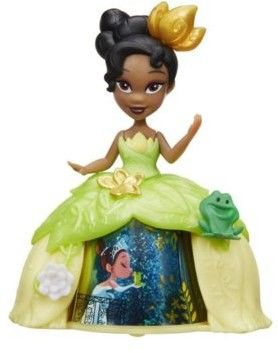 Hasbro Disney Princess - Mini laleczka w balowej sukni Tiana B8963