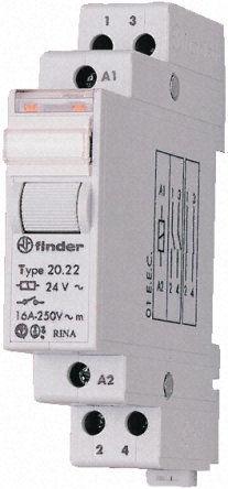 Przekaźnik impulsowy Finder 20.26.8.024.4000 Przekaźnik impulsowy Finder 20.26.8.024.4000