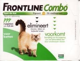 Frontline Combo Spot On Kot ZESTAW 3x0,5 ml - dla kota