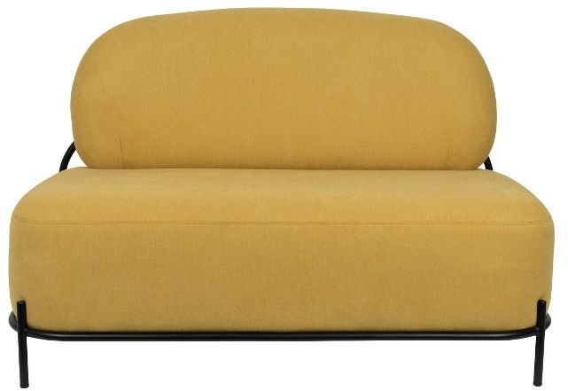 POLLY Yellow - Sofa 2-osobowa