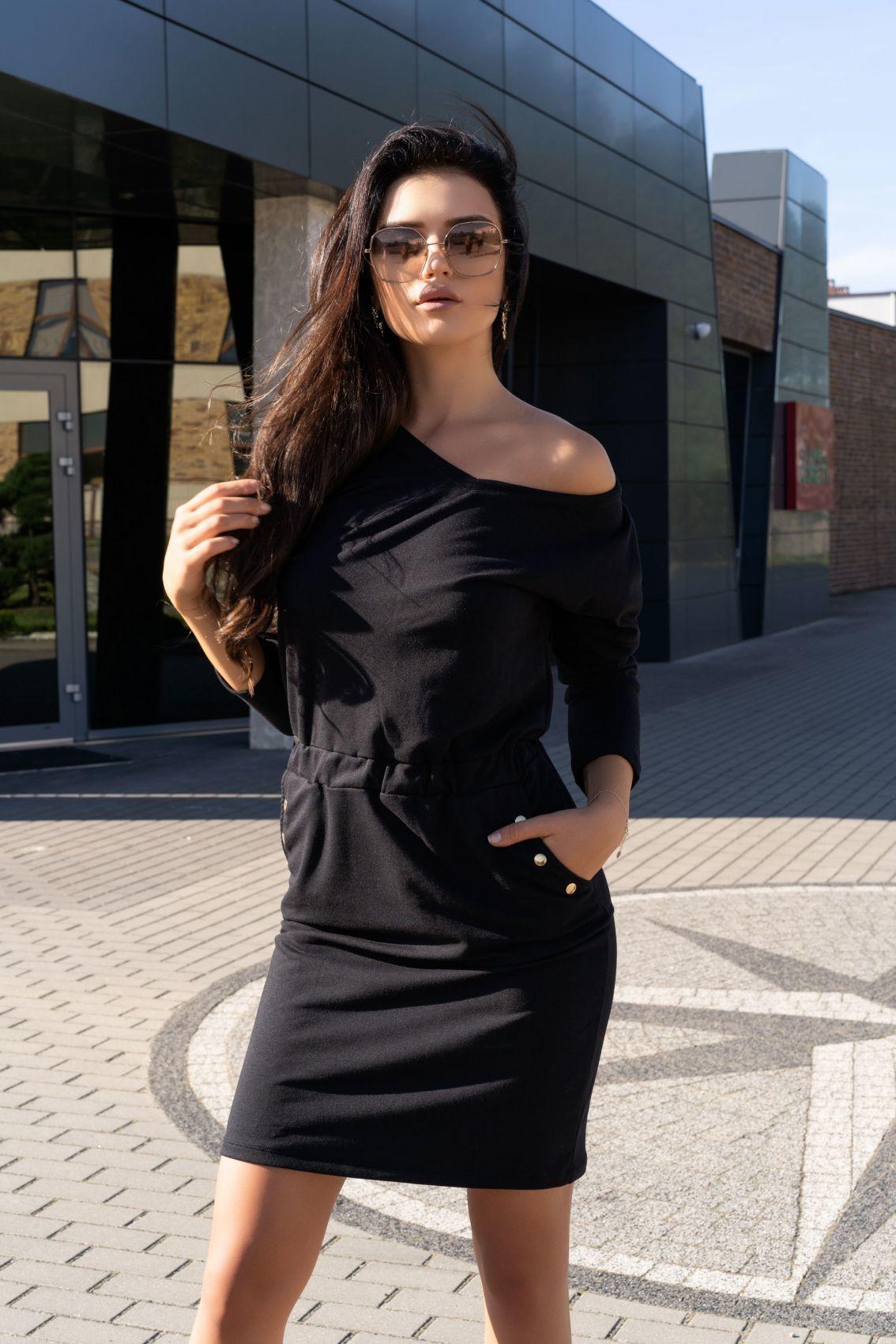 Ponitama Black D14 sukienka