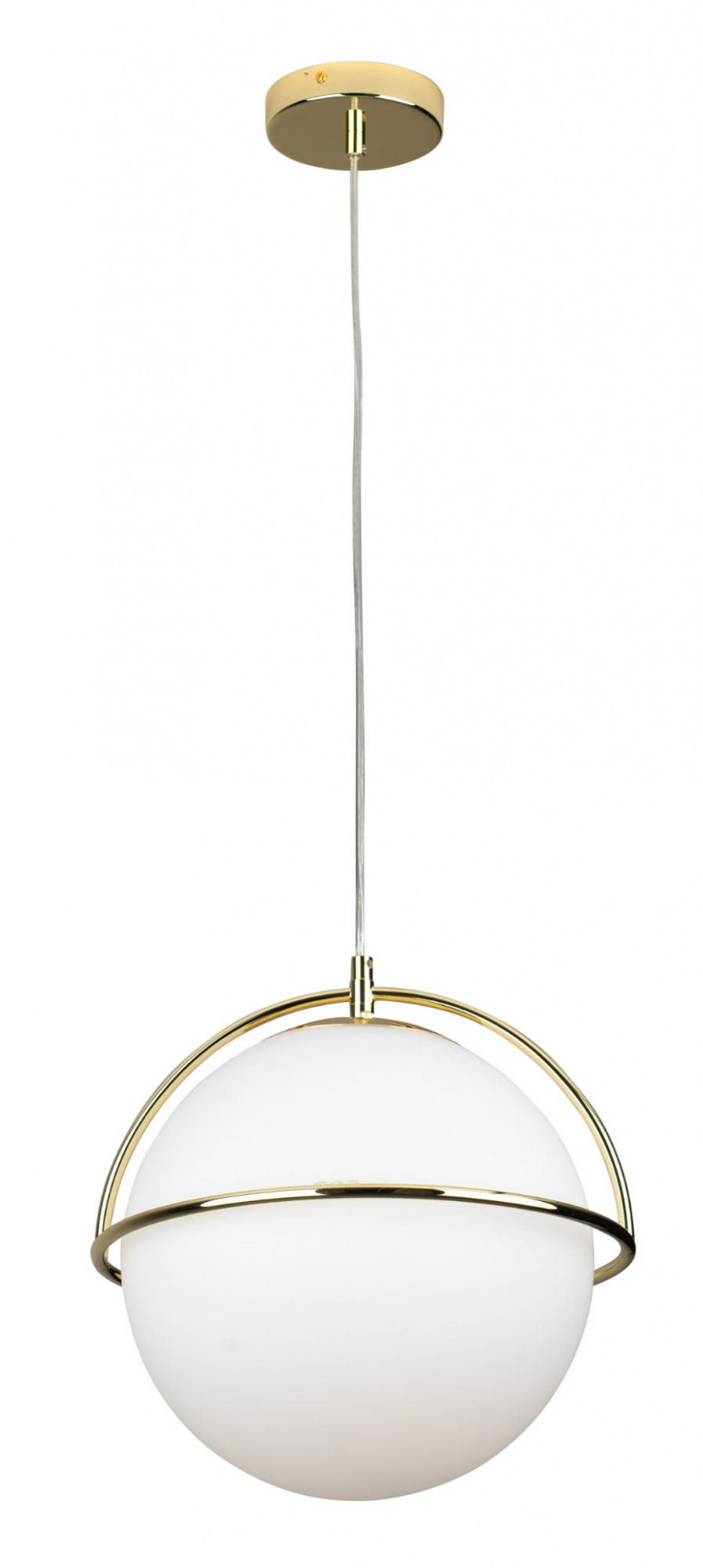 Lampa wisząca SATURN P0381 MAXlight złota oprawa w stylu nowoczesnym