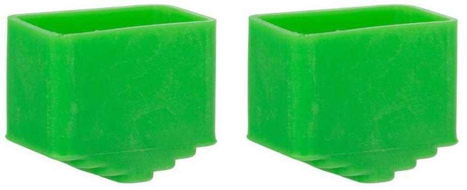 Stopki do drabiny 2 szt. zielone DEXTER