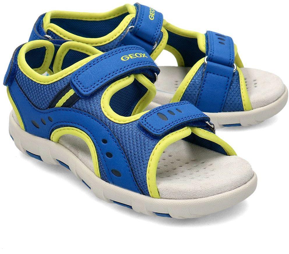 Geox Junior S.Pianeta - Sandały Dziecięce - J0264B 0CEFU C4344 - Niebieski