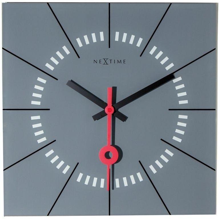 Nextime - zegar ścienny stazione