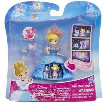 Hasbro Disney Princess - Mini laleczka Śnieżka i jabłkowy powóz C0534