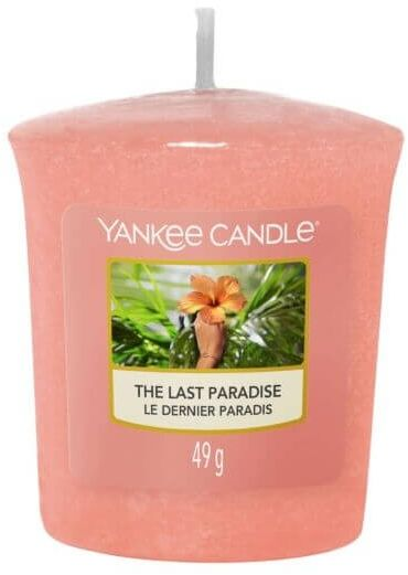 The Last Paradise Sampler/Votive Yankee Candle