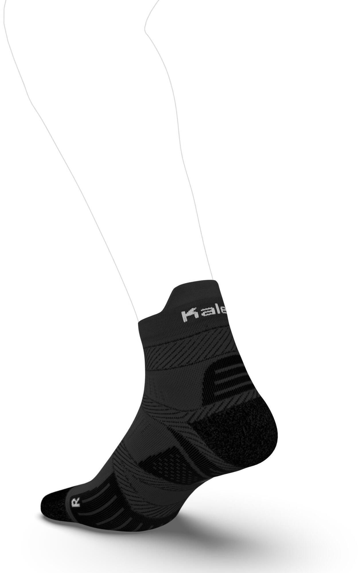 Skarpetki do biegania Kiprun Strap Thin średnie