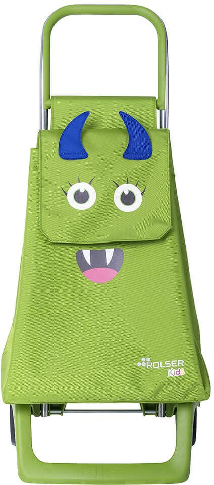 Wózek na zakupy dziecięcy Rolser Monster Kid MF - lime