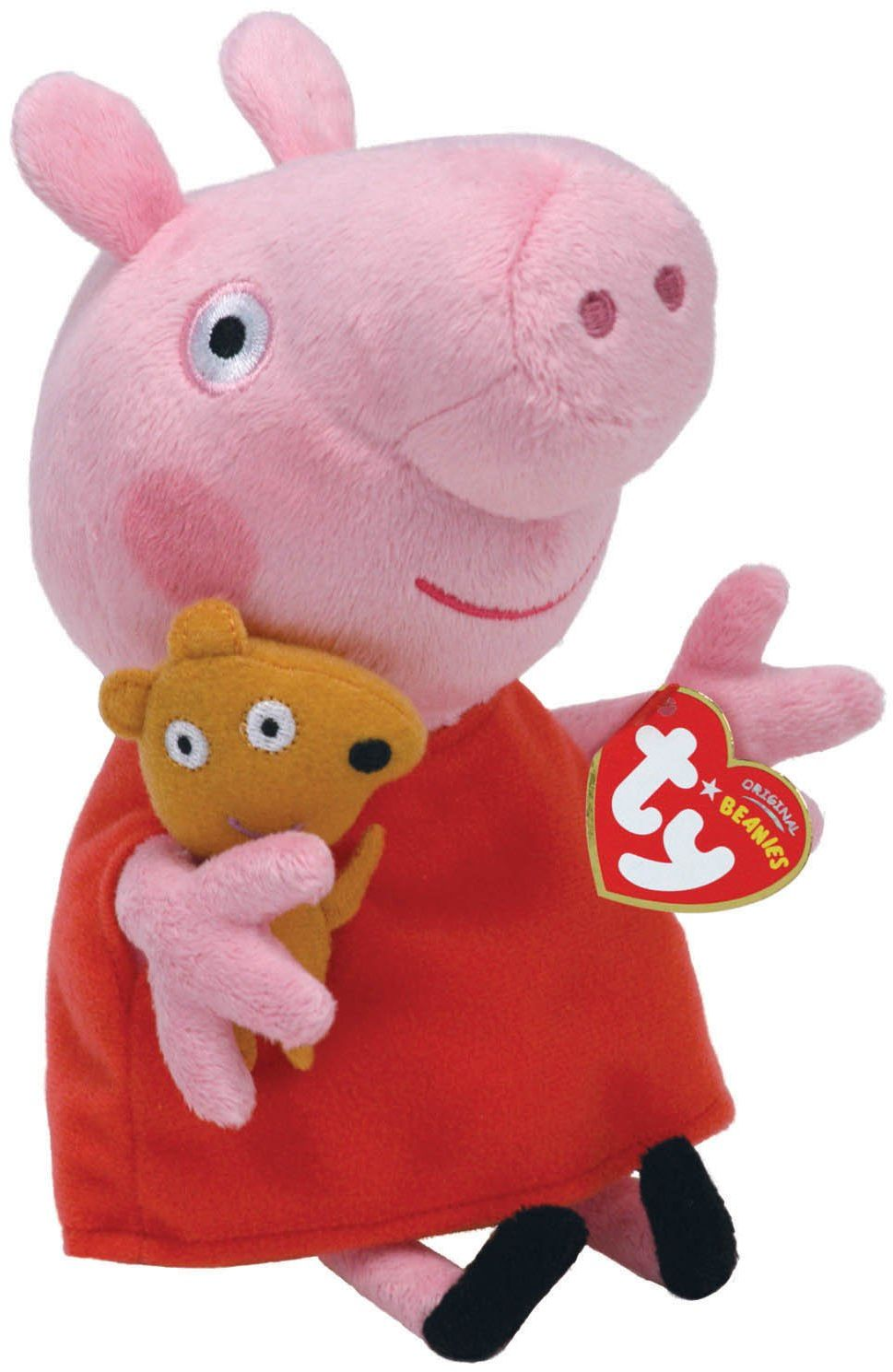 Peppa Pig 7146128 Pluszowa Świnka Peppa, Wielokolorowa