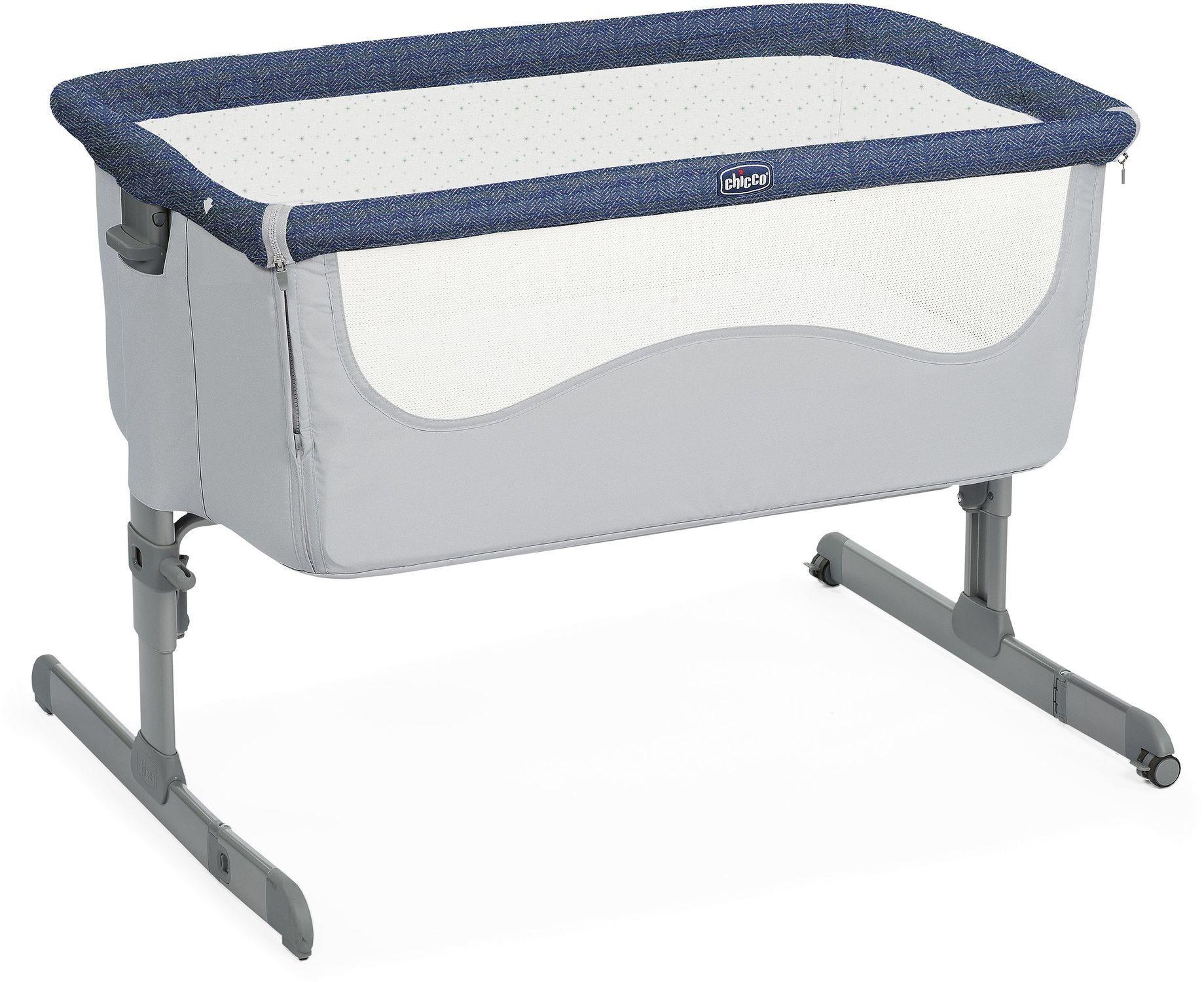 Chicco next2me spectrum łóżeczko dostawne + lampka usb