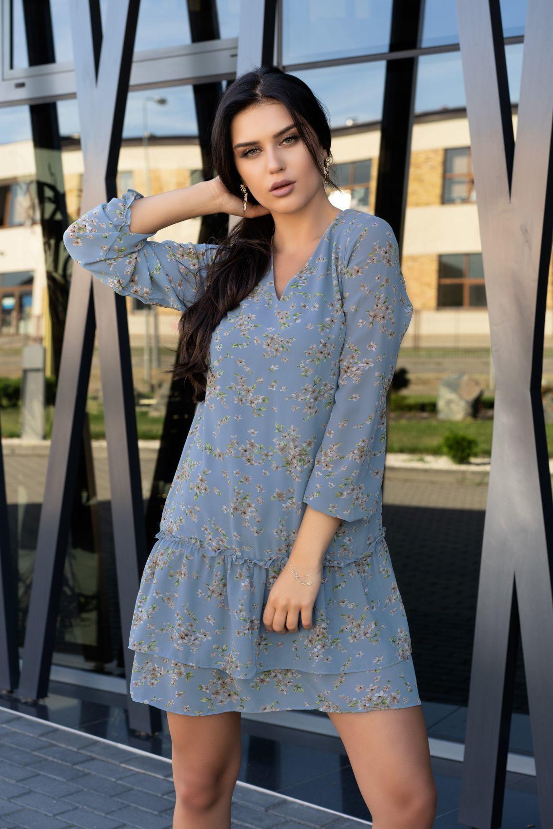 Provena Blue D104 sukienka